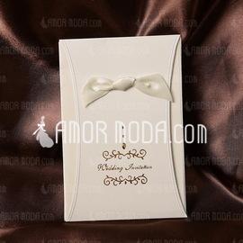 Klassieke Stijl Wrap & Pocket Invitation Cards met Linten (Set van 50) (114032385)