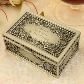 Sposa Regali - Personalizzato Stile Classico Lega Scatola di gioielli (255170419)