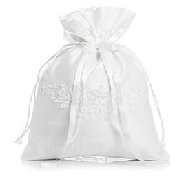 Unik Satin med Imitation Pärla/Spets Brudväska (012003821)