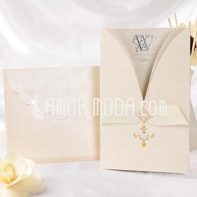 Estilo clásico Wrap & Pocket Invitation Cards (Juego de 50) (114032372)