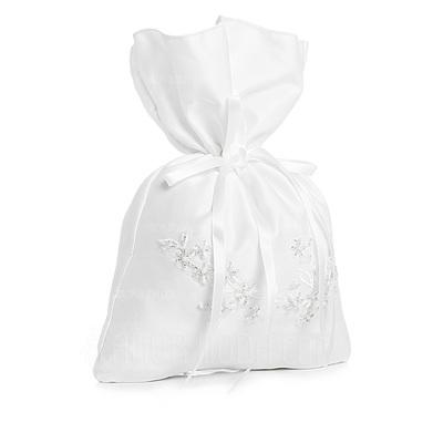 Anhänger Satiniert mit Synthetischen Perlen Braut Geld-Beutel (012003827)
