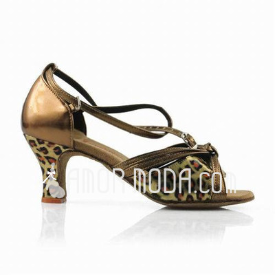 Frauen Kunstleder Heels Sandalen Latin mit Des Bowknot Tanzschuhe (053013011)