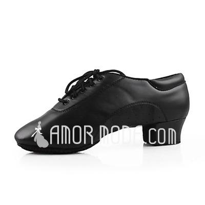 Herren Kunstleder Absatzschuhe Latin Ballsaal Training Charakter Schuhe Tanzschuhe (053013129)