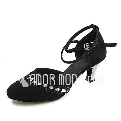 Frauen Nubuk Heels Absatzschuhe Moderne mit Knöchelriemen Tanzschuhe (053013546)