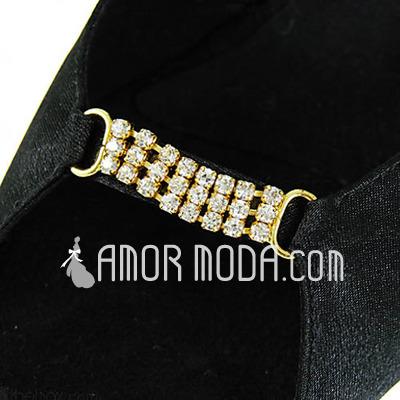 Vrouwen Satijn Hakken sandalen Latijn met Bergkristal Dansschoenen (053013486)