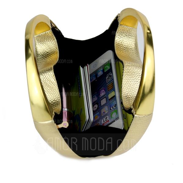 Prächtig PU Wristlet Taschen/Braut Geld-Beutel (012051291)