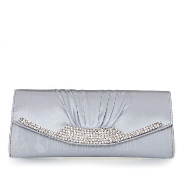 Prächtig Satin Handtaschen (012011033)