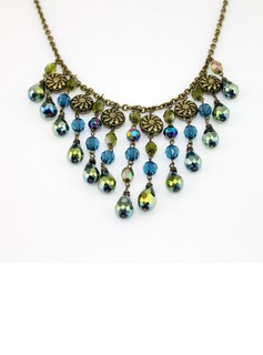 Gorgeous Alloy With Rhinestone Ladies' Necklaces (011034067)