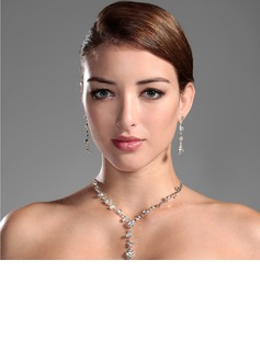 Gorgeous Alloy With Rhinestone Ladies' Jewelry Sets (011006978)