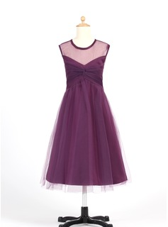 Princess Tulle Girl Dress With Ruffle (010007655)