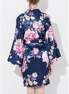 Bride Bridesmaid Cotton Floral Robes (248176080)