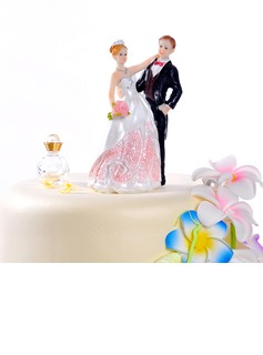 The Newlywed Resin Wedding Cake Topper (122036159)
