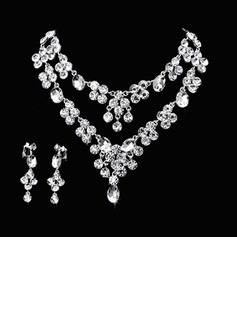 Nydelig Legering/Rhinestones Damene ' Smykker Sett (011026996)