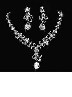 Elegant Legering/Rhinestones Damene ' Smykker Sett (011027001)