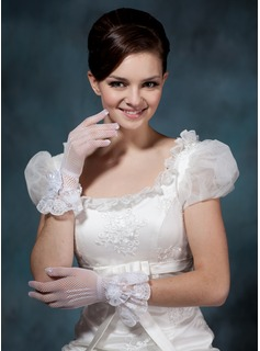 Tulle Wrist Length Party/Fashion Gloves/Bridal Gloves (014020504)