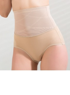 Cotton/Chinlon High Waist Shaping Panties (125034037)