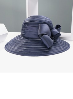 Ladies' Elegant/Unique Cambric With Bowknot Bowler/Cloche Hat (196197384)