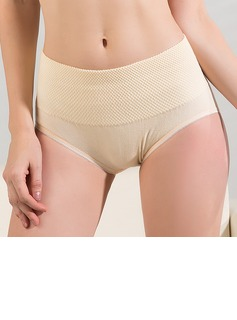 One Size Polyester/Cotton Mid-Rise Shaping Panties (125033955)