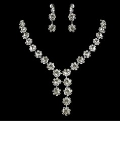 Gorgeous Alloy With Rhinestone Ladies' Jewelry Sets (011006361)
