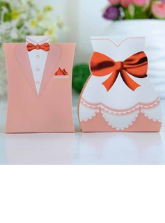 Tuxedo & Gown Favor Boxes (Set of 12) (050005791)
