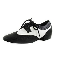 Men's Real Leather Flats Modern Ballroom Dance Shoes (053012954)