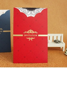 Formal Style Wrap & Pocket Invitation Cards (Set of 50) (114033281)