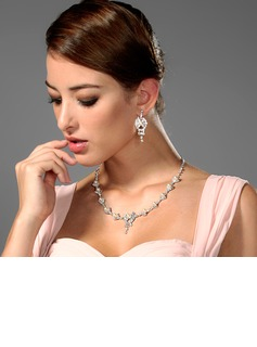 Elegant Alloy/Rhinestones Ladies' Jewelry Sets (011006977)