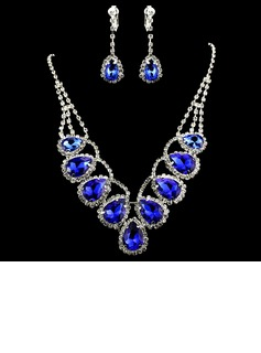 Gorgeous Alloy With Rhinestone Ladies' Jewelry Sets (011012945)