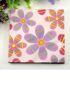 Flower Pattern Dinner Napkins (Set of 20) (011036240)