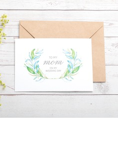 Bride Gifts - Classic Paper Wedding Day Card (255184420)