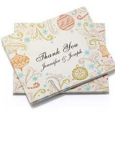 Personalized Formal Style Thank You Cards (Set of 50) (114054980)