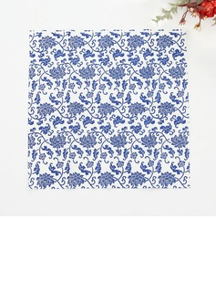 Flower Pattern Dinner Napkins (Set of 50 ) (122039508)