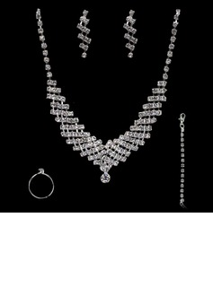 Gorgeous Alloy With Rhinestone Women's Jewelry Sets (011004472)