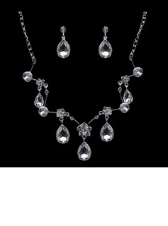 Gorgeous Alloy With Crystal Ladies' Jewelry Sets (011004469)