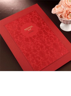 Personalized Classic Style/Modern Style/Bride & Groom Style Z-Fold Favor & Reception Sets (114188072)