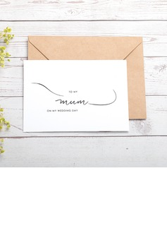 Bride Gifts - Classic Paper Wedding Day Card (255184425)