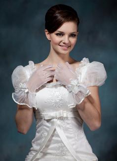 Voile Handgelenk Länge Party/Weise Handschuhe/Braut Handschuhe (014020493)