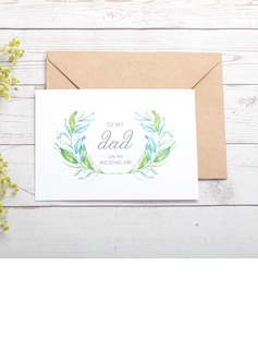 Bride Gifts - Classic Paper Wedding Day Card (255184419)