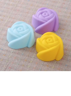 Rose Design Silikon Kake Mold (051053252)