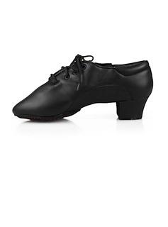 Herren Kinder Kunstleder Flache Schuhe Ballsaal Tanzschuhe (053013129)
