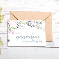 Bride Gifts - Classic Paper Wedding Day Card (255184414)