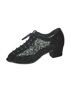 Women's Leatherette Heels Ballroom Dance Shoes (053018543)
