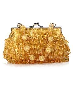 Prächtig Acryl mit Perlen verziert/Pailletten Handtaschen (012025208)