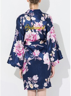 Bridesmaid Silk Floral Robes (248176085)