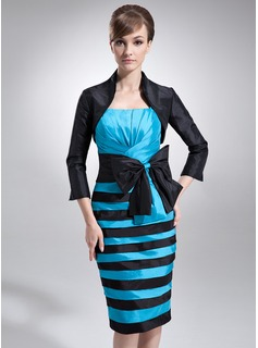 3/4-Length Sleeve Taffeta Special Occasion Wrap (013012321)