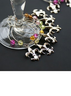 Non-Personalized Fleur De Lis Charms (Set of 6 Pieces) (052019995)