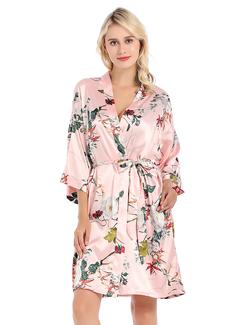 charmeuse la mariée Demoiselle d'honneur Robes Florales (248178685)