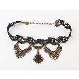 Prächtig Legierung Frauen Halsketten (011035174)