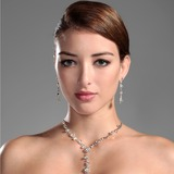 Gorgeous Legering med Strass Damer' Smycken Sets (011006978)