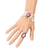 Schöne Legierung/Spitze Damen Armbänder (011053612)